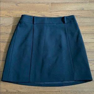 Express Black Skirt Size 6